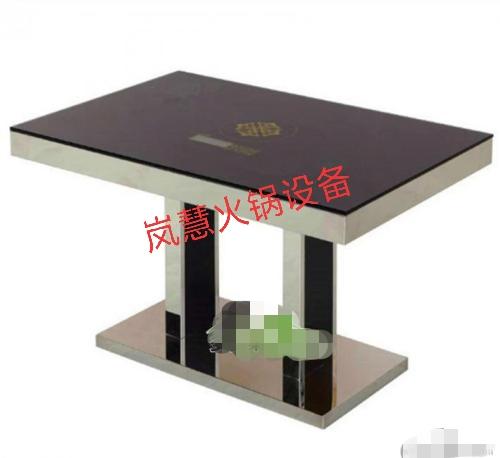 钢化玻璃火锅桌