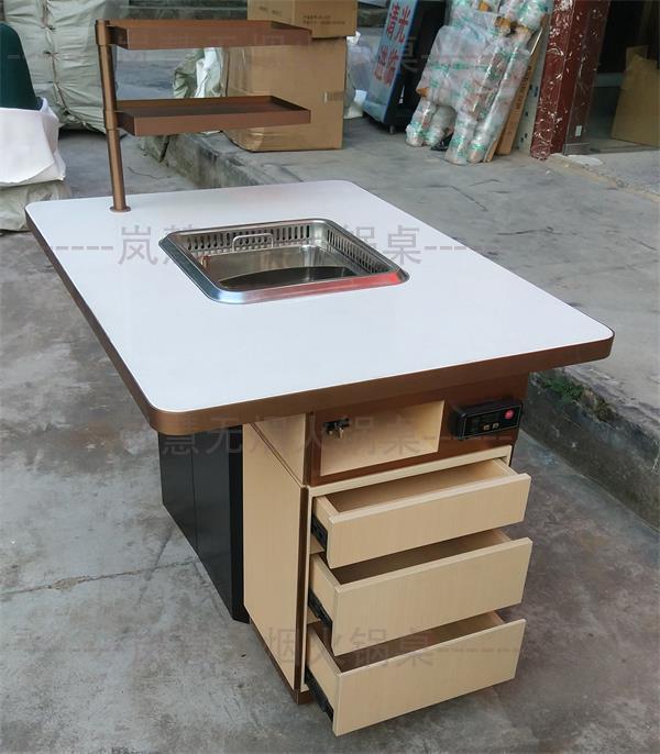石英石无烟火锅桌
