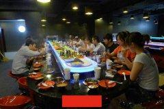 火锅桌定做旋转火锅桌定做