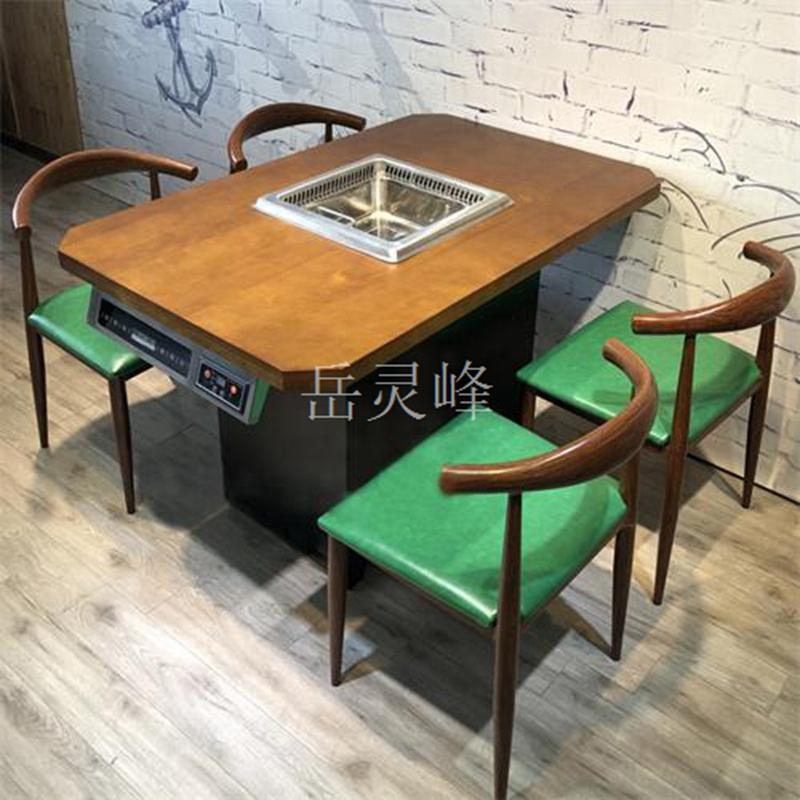 定制无烟火锅地排烟桌椅的注意事项