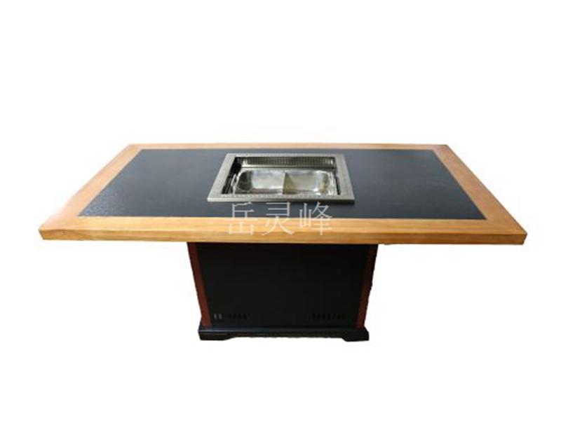 韩式无烟火锅桌表面有污垢如何处理