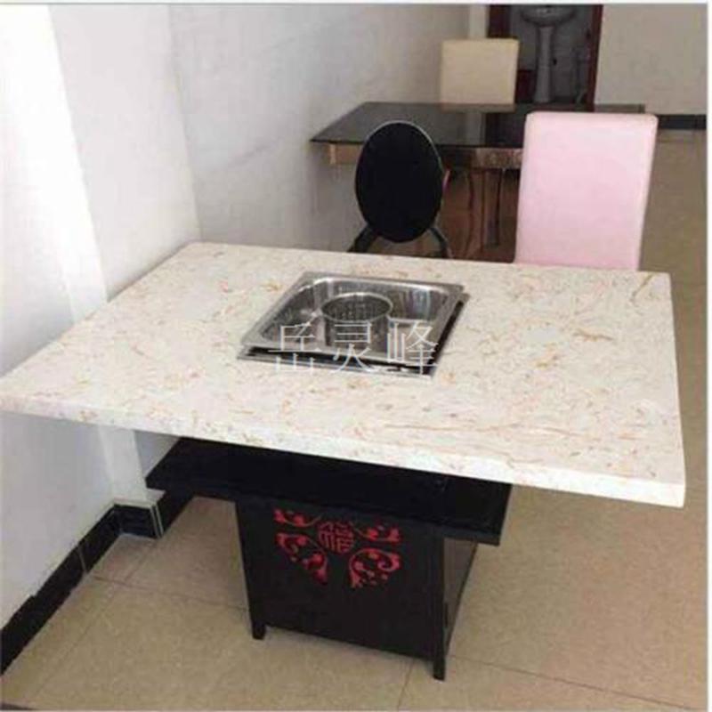 用木蜡油做为建筑涂料的顺德无烟火锅桌