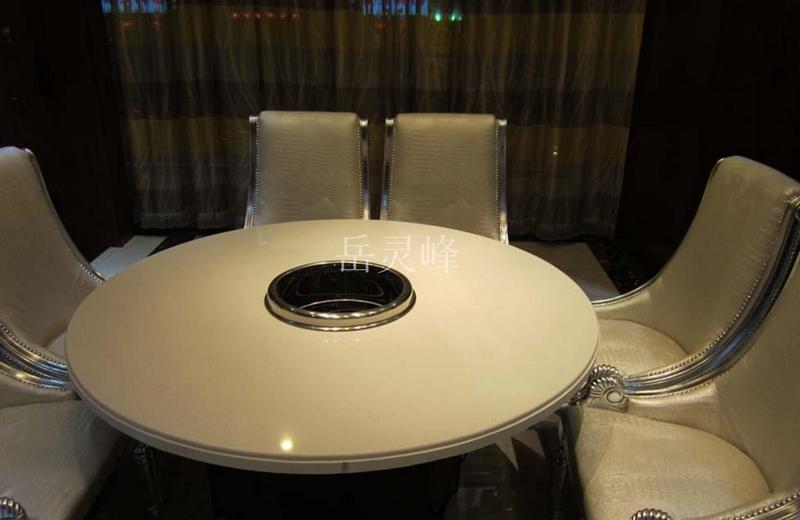 无烟火锅桌椅 燃气